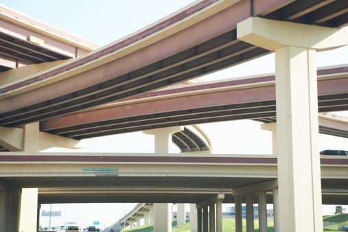 Elevated Road「Crisscrossing freeway overpasses」:スマホ壁紙(4)