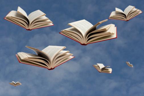 Imagination「Flying Books」:スマホ壁紙(6)