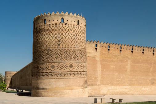 Iranian Culture「The Arg of Karim Khan citadel in Shiraz, Iran」:スマホ壁紙(12)