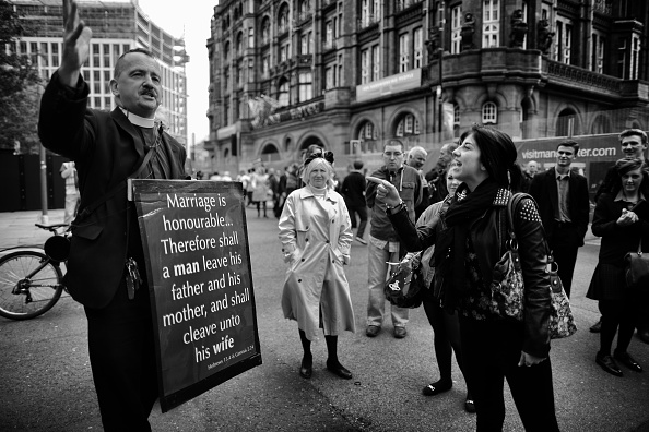 Preacher「An Alternative View Of The Conservative Party Annual Conference」:写真・画像(17)[壁紙.com]
