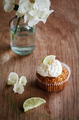 あじさい「Lime cup cake with cream cheese topping」:スマホ壁紙(13)