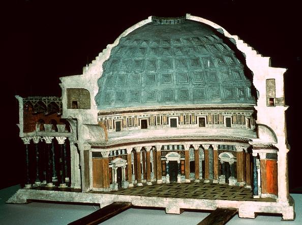 Model - Object「Model of the Pantheon, 1st century.」:写真・画像(12)[壁紙.com]
