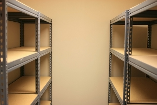 Gear「Empty Storage Space with Shelves」:スマホ壁紙(17)