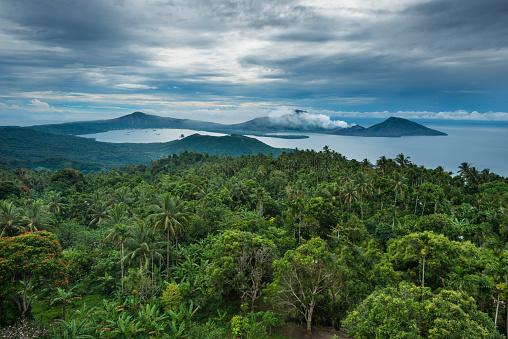 Volcanic Landscape「Matupit island volcanoes」:スマホ壁紙(2)