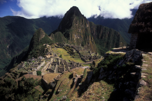 Bolivian Andes「Machu Picchu, Lost City of the Incas」:スマホ壁紙(2)