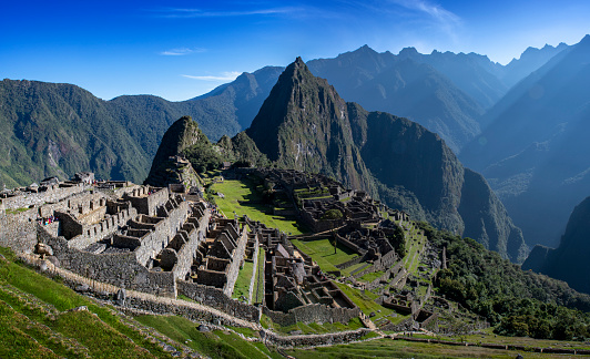 Peruvian Culture「Machu Picchu Incan Ruins at sunrise, Peru」:スマホ壁紙(2)
