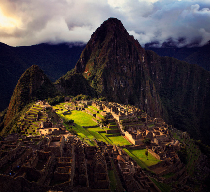 Mt Huayna Picchu「Machu Picchu at Last Light」:スマホ壁紙(5)
