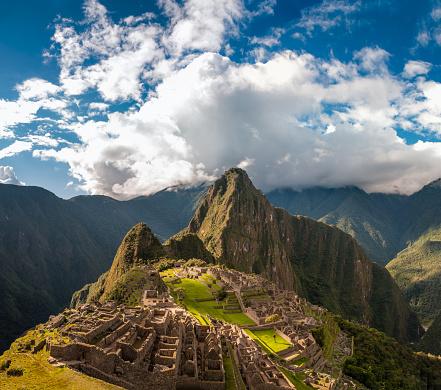 Peruvian Culture「Machu Picchu In Peru」:スマホ壁紙(3)