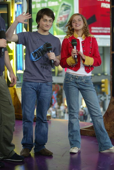 エマ・ワトソン「MTV TRL With Daniel Radcliffe And Emma Watson」:写真・画像(4)[壁紙.com]