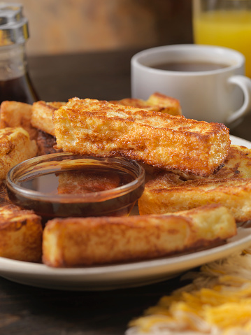 Maple Syrup「Crispy French Toast Fingers with Maple Syrup」:スマホ壁紙(10)