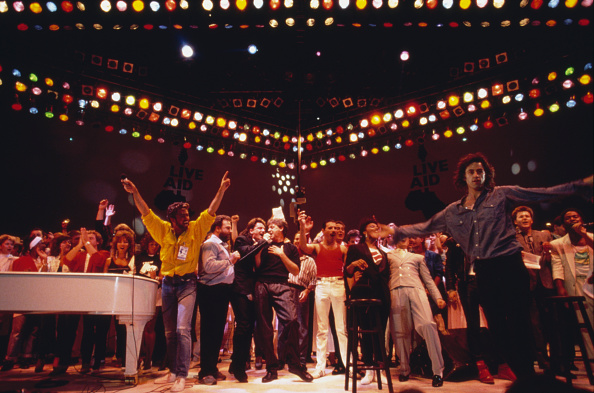 Charity and Relief Work「Live Aid Concert」:写真・画像(14)[壁紙.com]