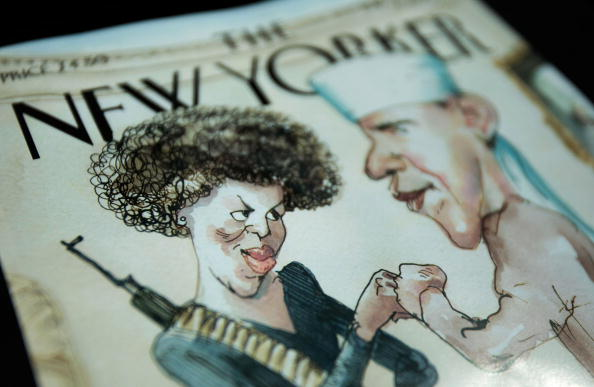 Textured「The New Yorker Cover Illustration Of Obama And Wife Provokes Controversy」:写真・画像(6)[壁紙.com]