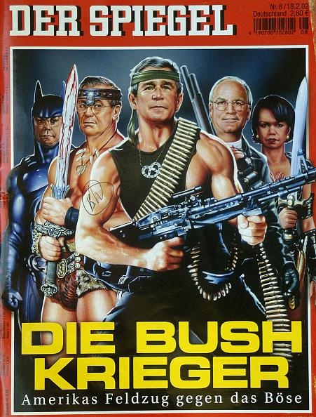 Satire「Der Spiegel Bush Cover」:写真・画像(17)[壁紙.com]