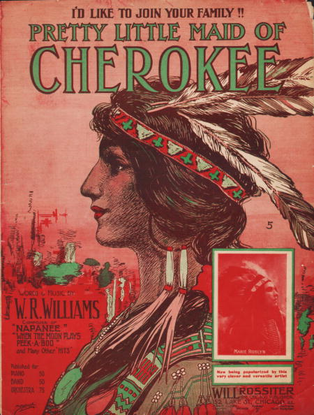 Profile View「Sheet Music For 'Pretty Little Maid Of Cherokee'」:写真・画像(2)[壁紙.com]