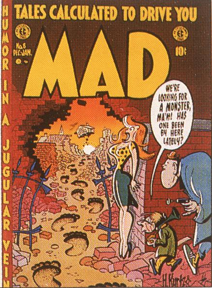Publication「Mad Magazine Cover December 1953」:写真・画像(2)[壁紙.com]