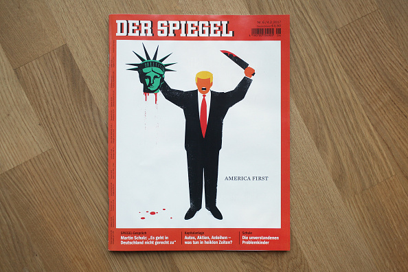 Germany「Controversial Der Spiegel Cover Depicts Donald Trump」:写真・画像(19)[壁紙.com]