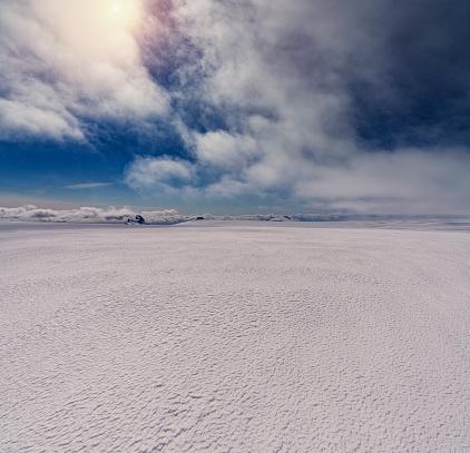 UNESCO「Oraefajokull glacier, Vatnajokull Ice Cap, Iceland」:スマホ壁紙(16)