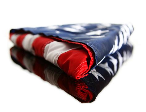 Fourth of July「Folded American Flag」:スマホ壁紙(16)