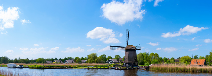 North Holland「Dutch Windmill」:スマホ壁紙(11)