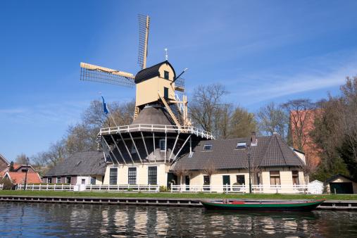 Amsterdam「Dutch windmill」:スマホ壁紙(17)
