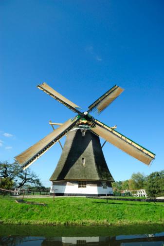 Netherlands「Dutch windmill」:スマホ壁紙(3)