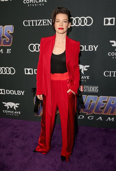 """Evangeline Lilly「Los Angeles World Premiere Of Marvel Studios' """"Avengers: Endgame""""」:写真・画像(3)[壁紙.com]"""