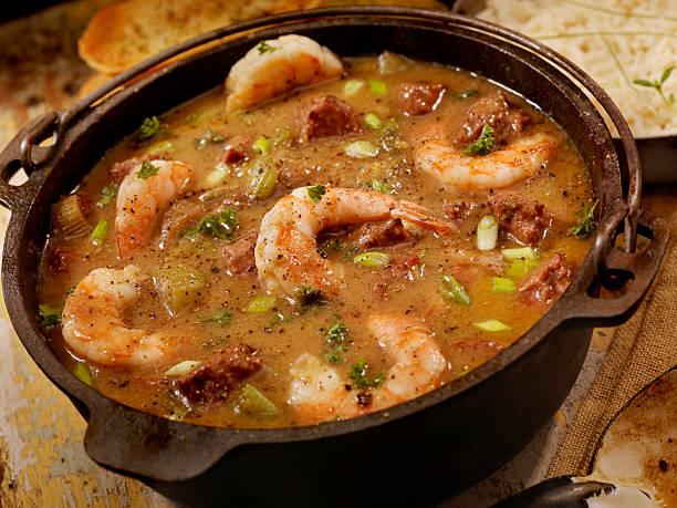 Shrimp and Sausage Gumbo:スマホ壁紙(壁紙.com)