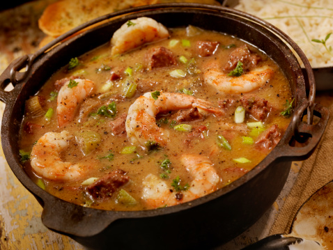 Cajun Food「Shrimp and Sausage Gumbo」:スマホ壁紙(7)