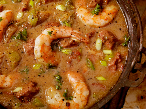 Cajun Food「Shrimp and Sausage Gumbo」:スマホ壁紙(16)