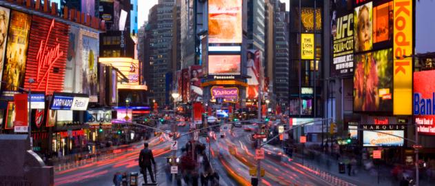 Town Square「New York Times Square」:スマホ壁紙(11)