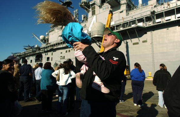 Jose Lopez「USS Boxer Heads Back To Iraq」:写真・画像(17)[壁紙.com]