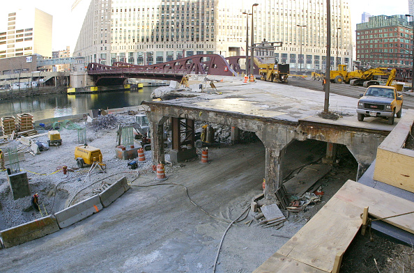 "Construction Industry「Chicagos ""Revive Wacker Drive"" Project」:写真・画像(19)[壁紙.com]"