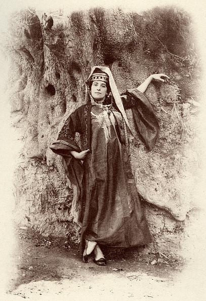 West Bank「Bethlehem   woman wearing local costume in   1894」:写真・画像(16)[壁紙.com]