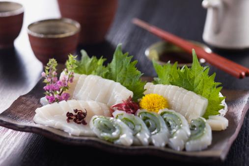 Sake「Squid Sashimi」:スマホ壁紙(14)