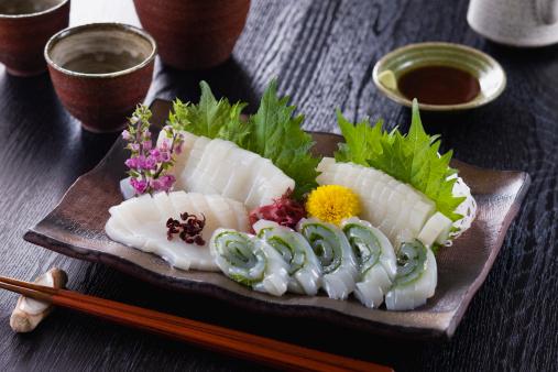 Sake「Squid Sashimi」:スマホ壁紙(10)