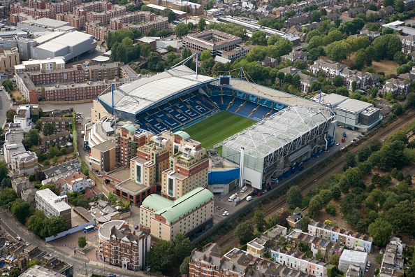High Angle View「Stamford Bridge Football Ground, London, 2006」:写真・画像(17)[壁紙.com]
