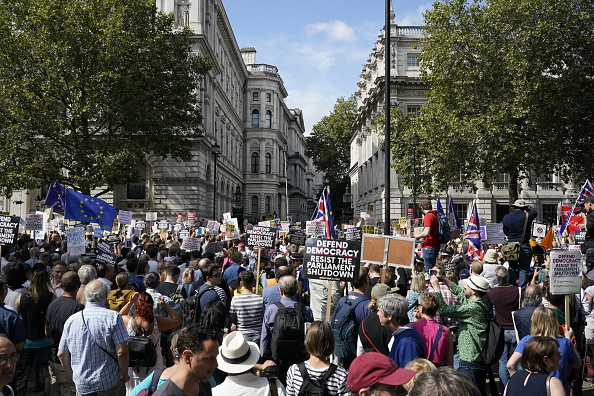 City Of Westminster - London「Stop The Coup Protests Against The Proroguing Of Parliament Are Held Across The UK」:写真・画像(19)[壁紙.com]