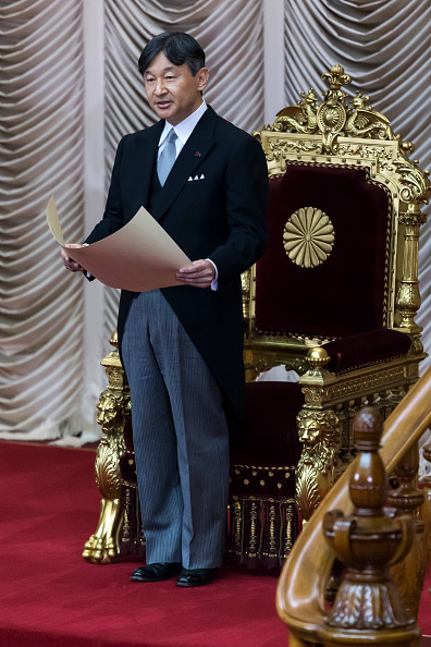 Japanese Royalty「Japanese Emperor Naruhito Opens The National Diet Session」:写真・画像(16)[壁紙.com]