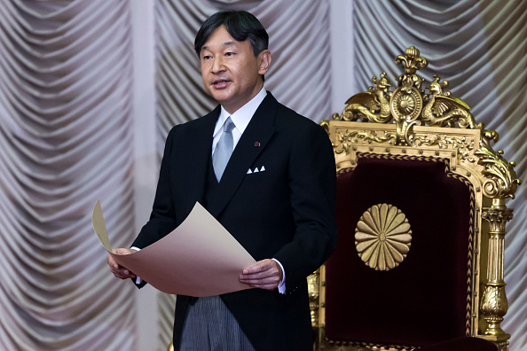 Emperor Naruhito「Japanese Emperor Naruhito Opens The National Diet Session」:写真・画像(9)[壁紙.com]