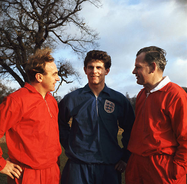 Sir Walter Winterbottom and Billy Wright and Freddie Hill:ニュース(壁紙.com)