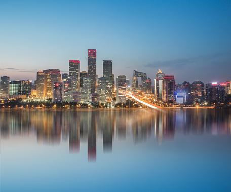 cloud「北京の中心業務地区」:スマホ壁紙(1)