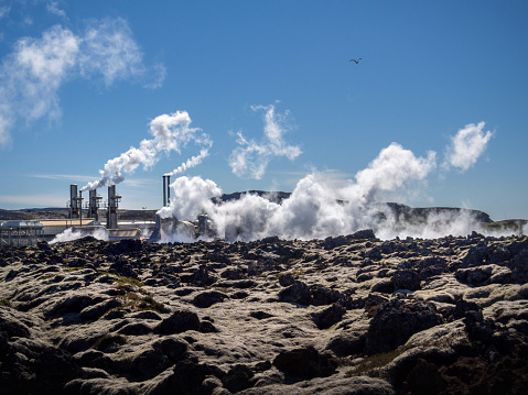 Generator「Svartsengi Geothermal Power Station on Iceland. This image is GPS tagged」:スマホ壁紙(7)