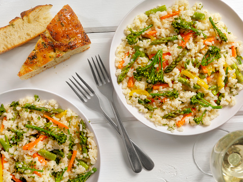 Italian Parsley「Vegetable Risotto with Fresh Parsley and Focaccia Bread」:スマホ壁紙(19)