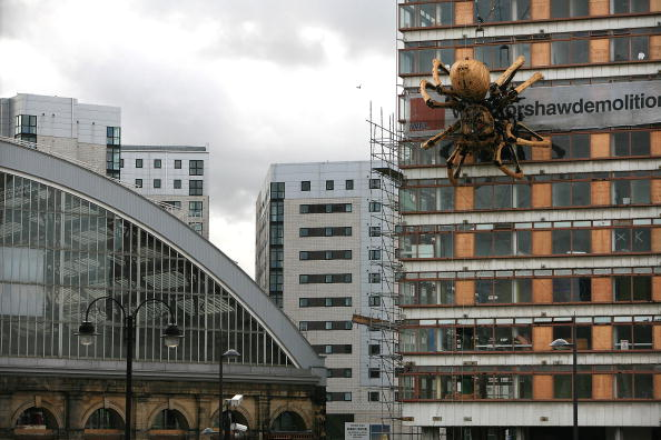 Cultures「Giant Mechanical Spider Appears In Liverpool」:写真・画像(2)[壁紙.com]