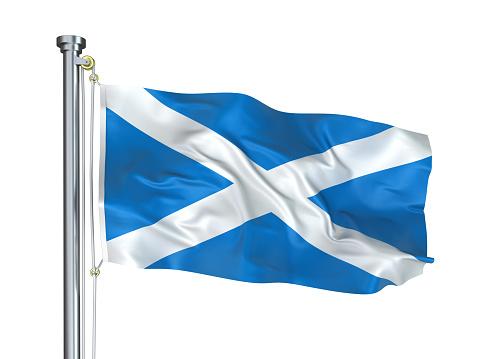 Pole「Flag of Scotland」:スマホ壁紙(8)