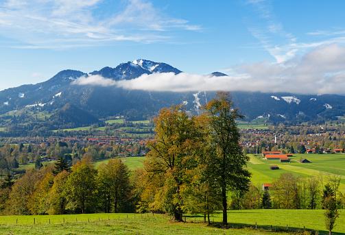 Brauneck「Germany, Isarwinkel, Lenggries, view to Brauneck」:スマホ壁紙(4)