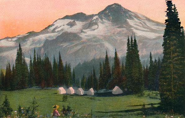 Snowcapped Mountain「Mount Rainier From Indian HenryS」:写真・画像(8)[壁紙.com]