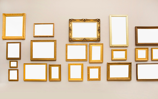Wall - Building Feature「Many blank frames.」:スマホ壁紙(9)