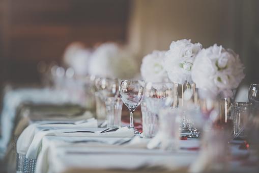 Decoration「Wedding Birthday Reception Decoration, Chairs, Tables and Flowers」:スマホ壁紙(12)