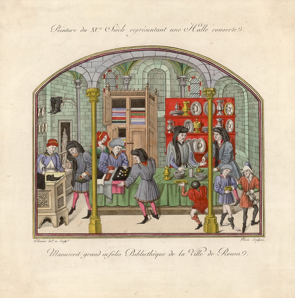 Medieval「Market Hall」:写真・画像(4)[壁紙.com]
